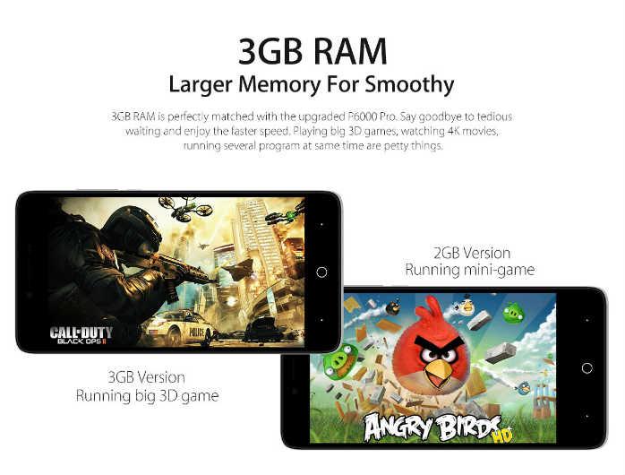 Elephone P6000 Pro specs