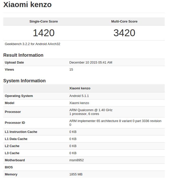 Xiaomi-Kenzo-Geekbench
