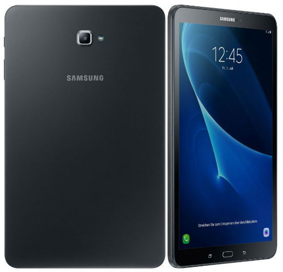Samsung Galaxy Tab A 10.1 (2016) with Android 6.0, 2GB RAM ...