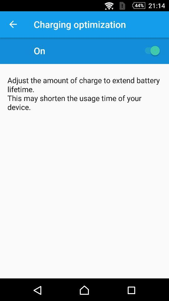 slow charging