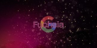Fuchsia operating system