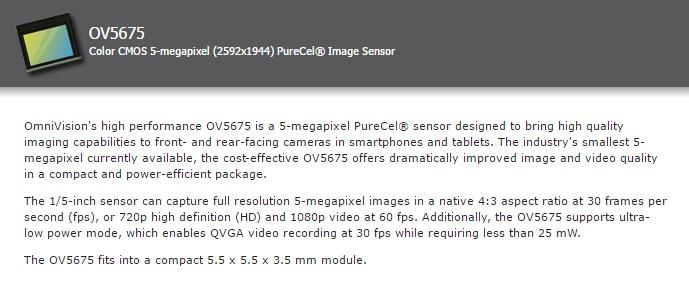 Mi Mix Camera details