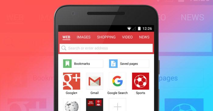 opera mini browser apk