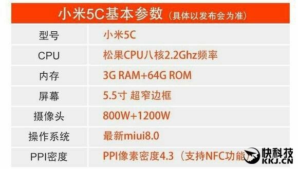 xiaomi-mi-5c-leaks-specs-sheet