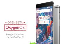 OnePlus 3 Android 7.0 Nougat Beta