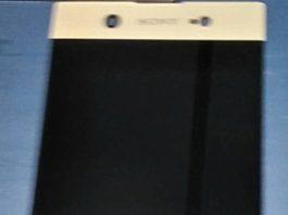 Sony Xperia XZ (2017) front panel