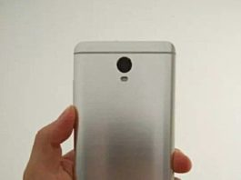 Alleged Xiaomi smartphone