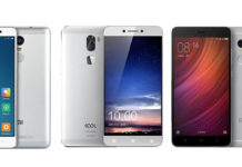Redmi Note 4 vs Redmi Note 3 vs Coolpad Cool 1