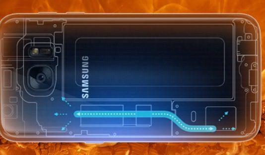 Samsung Galaxy Cooling