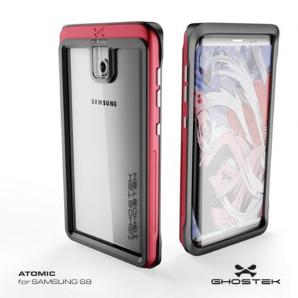 Samsung Galaxy S8 case renders