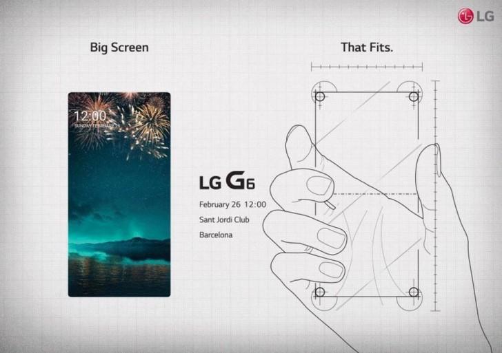 LG G6 Bezel-less Display
