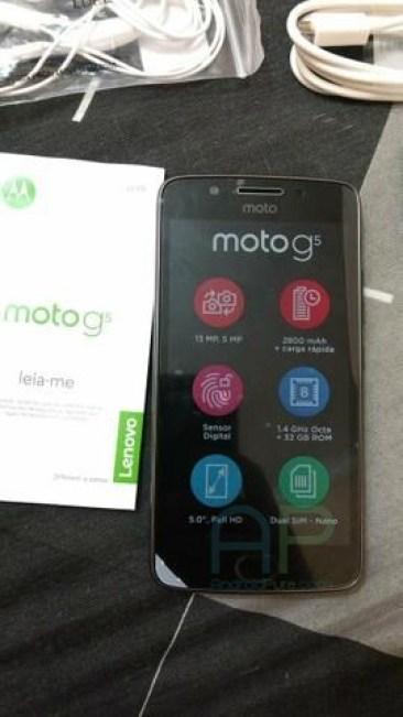 Moto G5 3