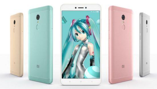 Xiaomi Redmi Note 4X Hatsune Miku Special Edition
