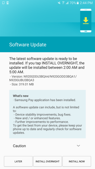 galaxy note 5 firmware
