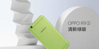 Oppo Green R9s