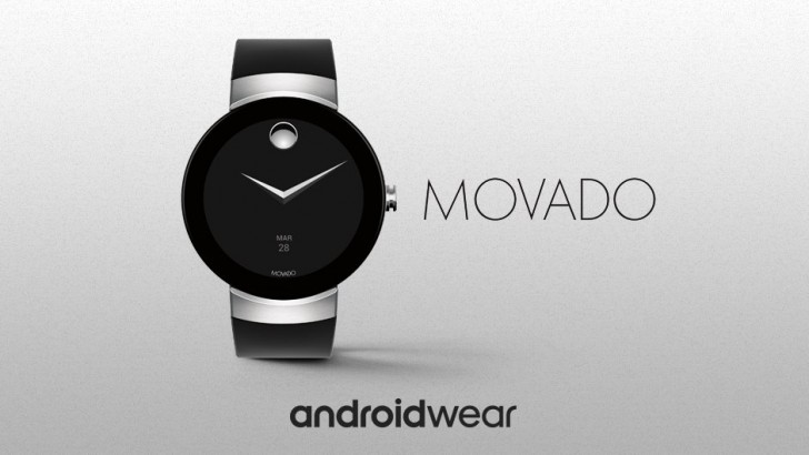 Movado Connect Android Wear 2.0 looks similar to Movado ...