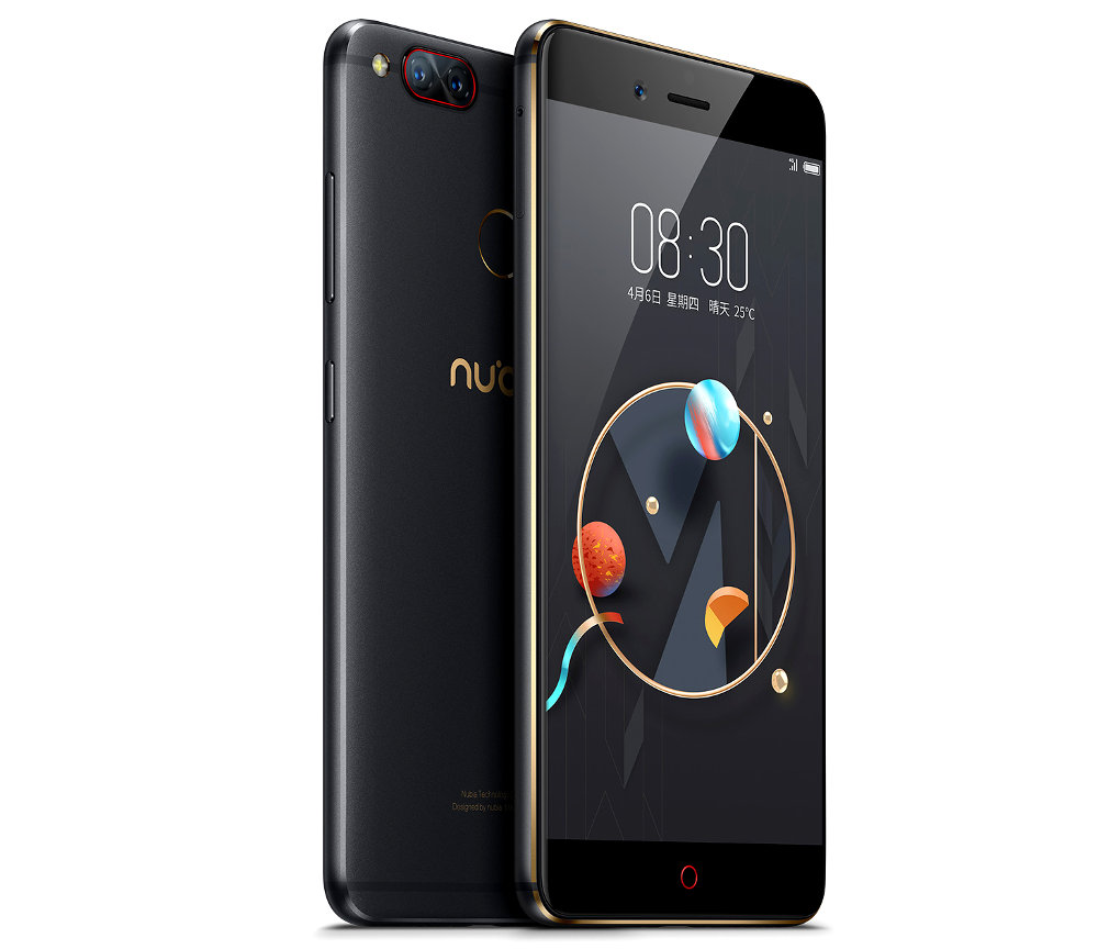zte nubia z17 5 5 touchscreen itself