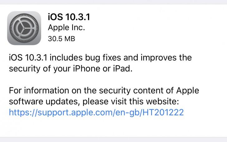 10.3 iOS Update