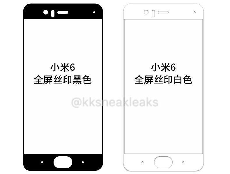 Xiaomi Mi 6 Front Panel Leak