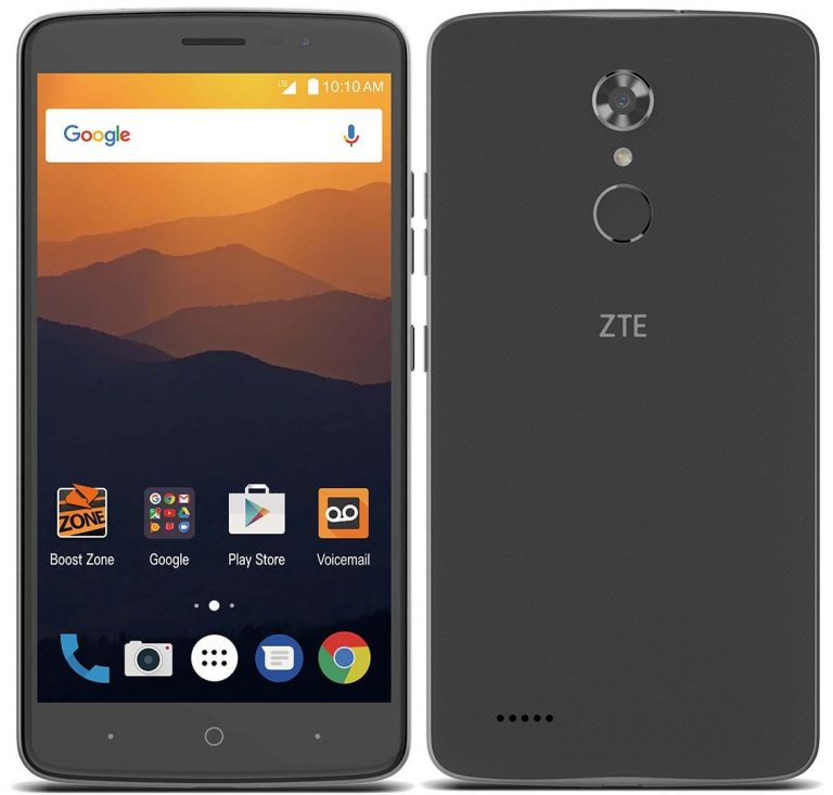 Zte Max Xl With 6 Inch Display Snapdragon 425 Android 7