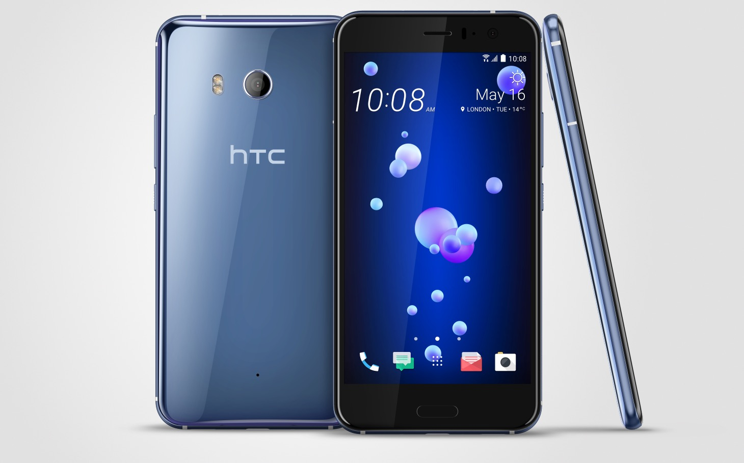 HTC reveals its latest smartphone squeeze, the U11