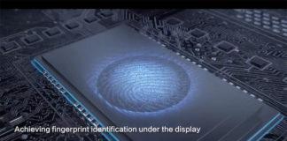 Qualcomm Fingerprint technology