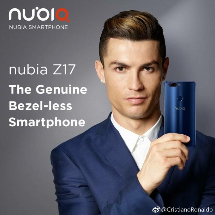 nubia-z17-christiano-ronaldo