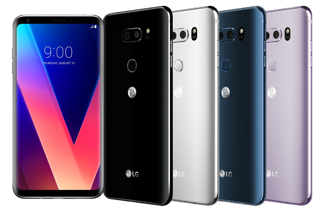 LG V30 Color Variants Leak: 4 Variants Spotted Before Launch