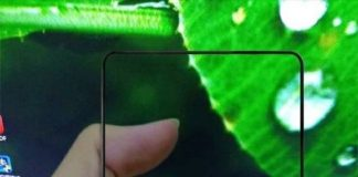 Xiaomi Mi Mix 2 front panel