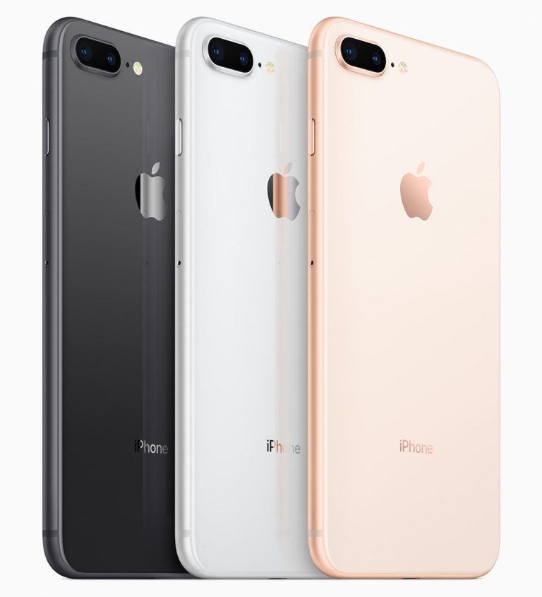 IPhone 8 And Plus Official With A11 Bionic Chip Glass Back