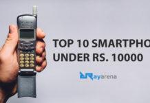 Top 10 Phones under 10000