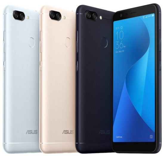 ASUS Launches Zenfone Max Plus (M1) Smartphone 18:9 Display