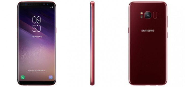 Burgundy-Red-Galaxy-S8