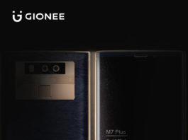 Gionee M7 Plus teaser