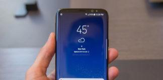 Galaxy S9 Bezel-less concept