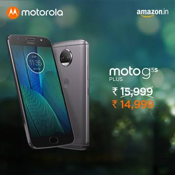 Moto G5S Plus Price Cut