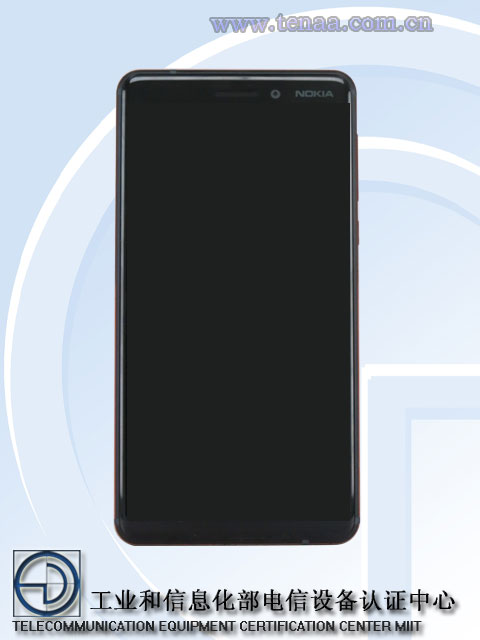 Nokia 6-(2018)-Front-sideview