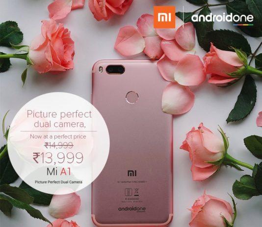 Xiaomi Mi A1 Price cut