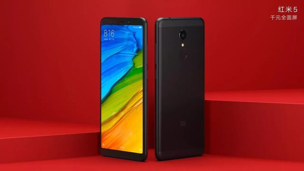 Xiaomi-Redmi-5-Black-color-variant
