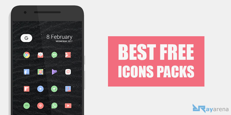 10 Best Free Icon Packs For Android 2019