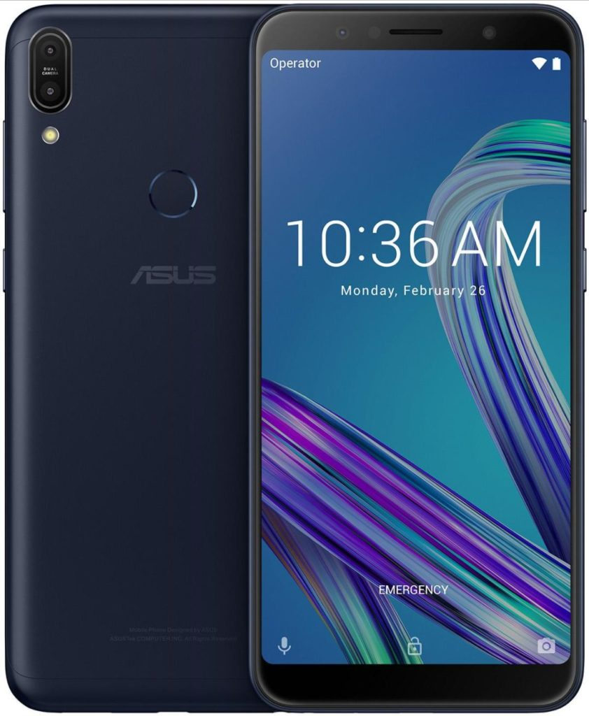 ASUS ZenFone Max Pro M1 Official Render Leaks Ahead of Launch