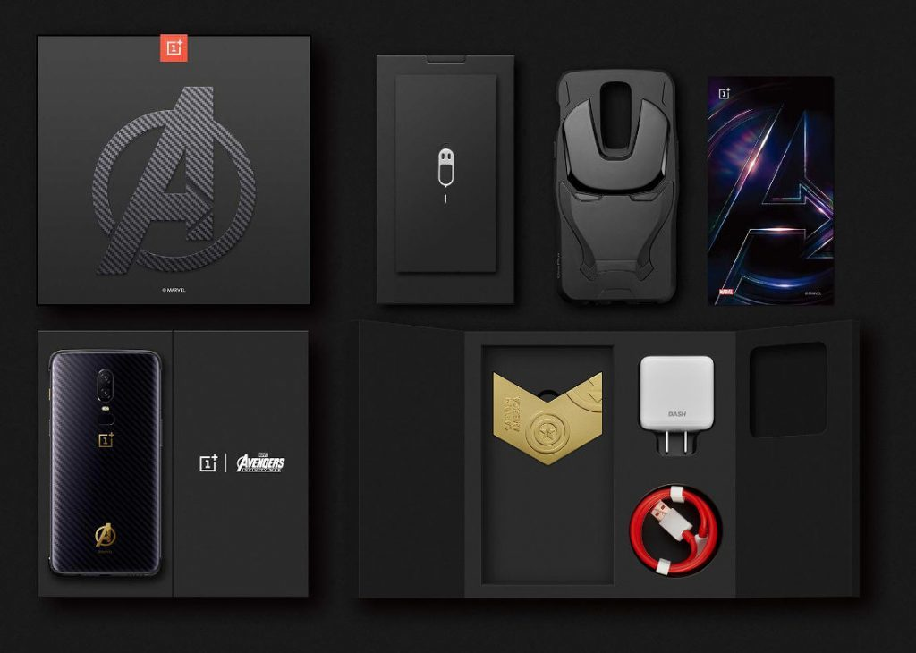OnePlus-6-Avengers-Limited-Edition box contents