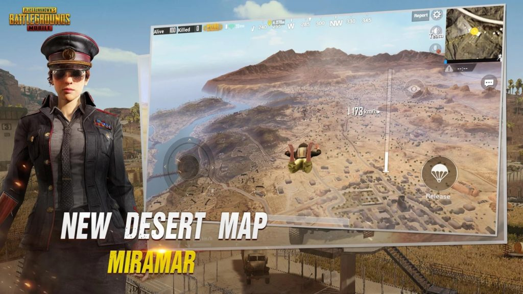 The Miramar desert map comes to PUBG Mobile today