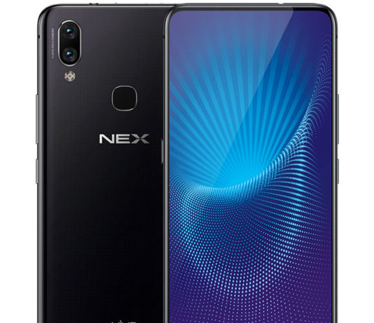 Vivo NEX A Announced in China