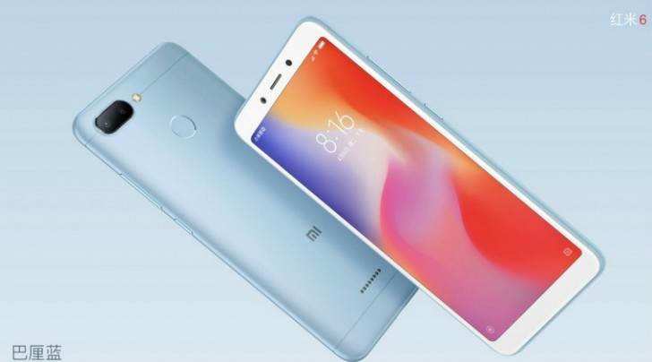 Xiaomi Redmi 6 announced