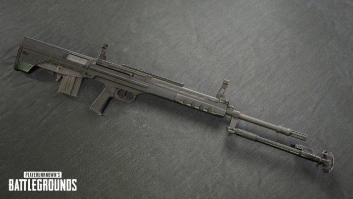 PUBG QBU DMR-Rifle