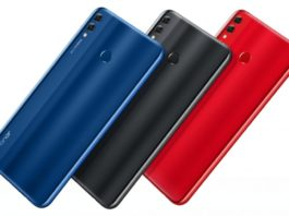 Honor-8X-Red