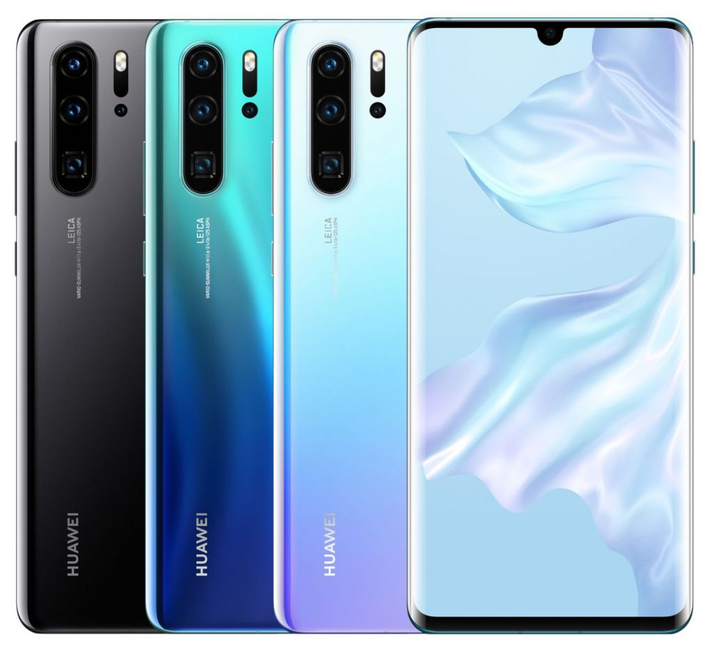 Huawei P30 Pro With OLED Display Quad Rear Cameras In Display Fingerprint Sensor 8GB RAM Announced