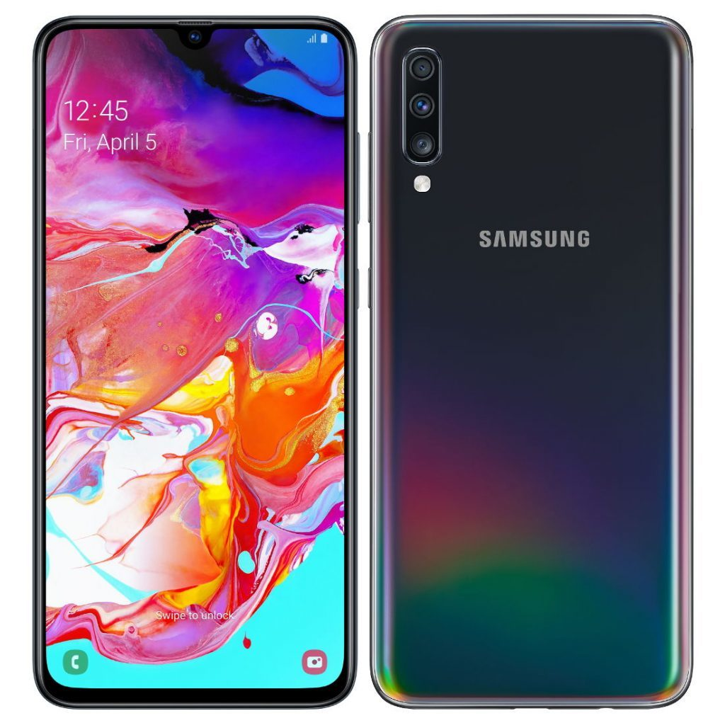 Samsung Galaxy A70 With AMOLED Infinity U Display In Display Fingerprint Sensor Announced