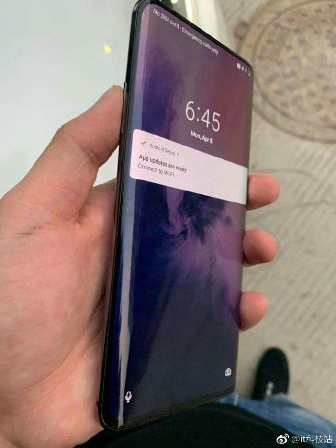 OnePlus 7 real life image leak